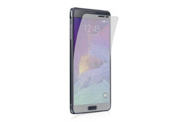Фирменная защитная пленка для телефона Samsung Galaxy Note 4 SM-N910C глянцевая
