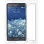 Фирменная оригинальная защитная пленка для телефона Samsung Galaxy Note Edge SM-N915F глянцевая..