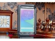 Неубиваемый противоударный грязестойкий влагозащитный ударопрочный фирменный чехол-бампер для Samsung Galaxy N..