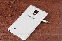 Родная оригинальная задняя крышка-панель которая шла в комплекте для Samsung Galaxy Note Edge белая