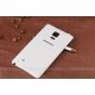 Родная оригинальная задняя крышка-панель которая шла в комплекте для Samsung Galaxy Note Edge белая..