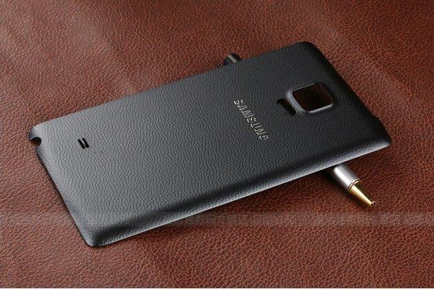 Родная оригинальная задняя крышка-панель которая шла в комплекте для Samsung Galaxy Note Edge черная