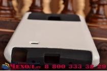 Противоударный усиленный ударопрочный фирменный чехол-бампер-пенал для Samsung Galaxy Note Edge SM-N915F белый