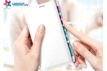 """Чехол с логотипом для Samsung Galaxy Note Edge с дизайном """"Flip Wallet"""" белый"""