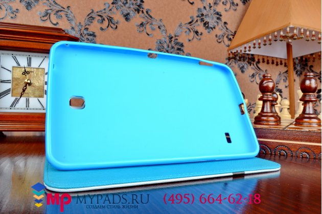 """Фирменный эксклюзивный необычный  чехол для Samsung Galaxy Tab 4 7.0 """"тематика Совы"""" с антискользящим покрытием"""