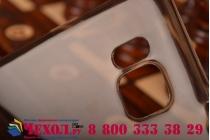 Фирменная ультра-тонкая полимерная из мягкого качественного силикона задняя панель-чехол-накладка для Samsung Galaxy Alpha SM-G850F черный