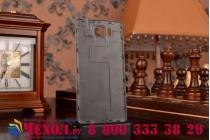 Фирменная задняя панель-крышка-накладка из тончайшего и прочного пластика дляSamsung Galaxy Alpha SM-G850F золотая