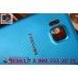 Фирменная задняя панель-крышка-накладка из тончайшего и прочного пластика для Samsung Galaxy Alpha SM-G850F го..