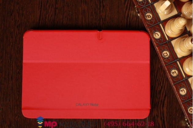 """Чехол с логотипом для Samsung Galaxy Note 10.1 N8000 с дизайном """"Book Cover"""" красный"""