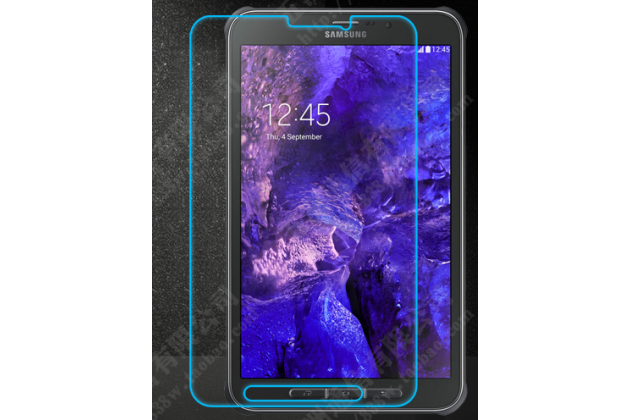Фирменное защитное закалённое противоударное стекло премиум-класса из качественного японского материала с олеофобным покрытием для планшета Samsung Galaxy Tab Active 8.0 SM-T360 / T365