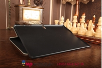 """Чехол-футляр для Samsung Galaxy Tab S 10.5 SM-T800/T801/T805 """"тематика Тауэрский мост Англия"""" кожаный"""