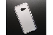 """Фирменная ультра-тонкая полимерная из мягкого качественного силикона задняя панель-чехол-накладка для Samsung Galaxy A3 (2017) SM-A320F 4.7"""" белая"""