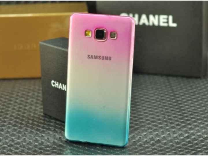 Фирменная из тонкого и лёгкого пластика задняя панель-чехол-накладка для Samsung Galaxy A3 SM-A300F/H/YZ прозр..
