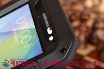 Неубиваемый водостойкий противоударный водонепроницаемый грязестойкий влагозащитный ударопрочный фирменный чехол-бампер для Samsung Galaxy A3 SM-A300F/H/YZ цельно-металлический со стеклом Gorilla Glass