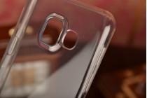 """Фирменная ультра-тонкая полимерная из мягкого качественного силикона задняя панель-чехол-накладка для Samsung Galaxy A3 (2016) SM-A310/ A3100/ A310F 4.7"""" черная"""
