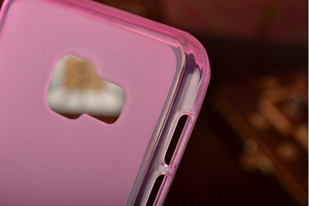 """Фирменная ультра-тонкая полимерная из мягкого качественного силикона задняя панель-чехол-накладка для Samsung Galaxy A3 (2016) SM-A310/ A3100/ A310F 4.7"""" розовая"""