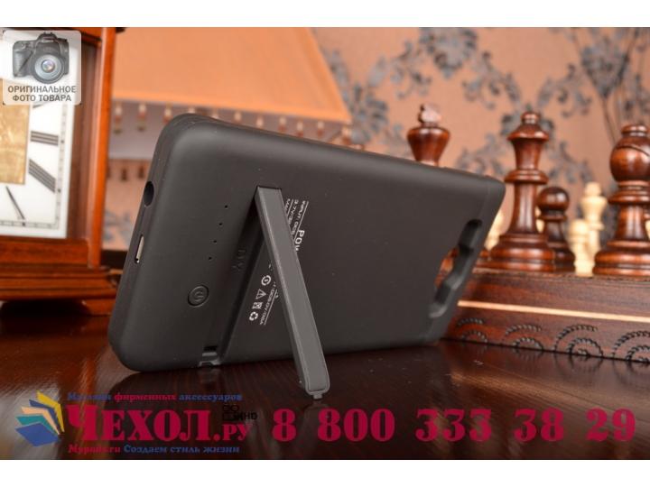 Чехол-бампер со встроенным усиленным аккумулятором большой повышенной расширенной ёмкости 3200mAh для Samsung ..