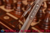 """Фирменная металлическая задняя панель-крышка-накладка из тончайшего облегченного авиационного алюминия для Samsung Galaxy A5 2016/  A5+ / A510 / A5100 5.2"""" серебристая"""