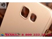 Фирменная задняя панель-крышка-накладка из тончайшего и прочного пластика для Samsung Galaxy A5 2016/  A5+ / A..