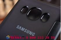 """Чехол-книжка с дизайном """"Clear View Cover""""  для Samsung Galaxy A5 SM-A500F  черный"""