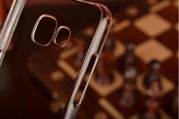 """Фирменная задняя панель-крышка-накладка из тончайшего и прочного пластика для Samsung Galaxy A5 2016/  A5+ / A510 / A5100 5.2""""  прозрачная"""