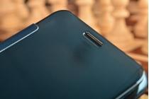 """Фирменный оригинальный чехол-книжка Samsung Galaxy A7 2016 / A7100 / A710F / A7+  5.5"""" .2"""" синий"""