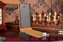 """Фирменный вертикальный откидной чехол-флип для Samsung Galaxy A7 2016 / A7100 / A710F / A7+  5.5""""  """"тематика Сова"""""""