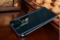 """Фирменный оригинальный чехол-книжка Samsung Galaxy A9 2016 A900F /A9000 6.0"""" синий"""