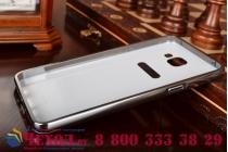 """Фирменная металлическая задняя панель-крышка-накладка из тончайшего облегченного авиационного алюминия для Samsung Galaxy A9 2016 A900F /A9000 6.0"""" черная"""