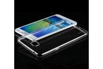 """Фирменная ультра-тонкая полимерная из мягкого качественного силикона задняя панель-чехол-накладка для  Samsung Galaxy A9 2016 A900F /A9000 6.0"""" прозрачная"""