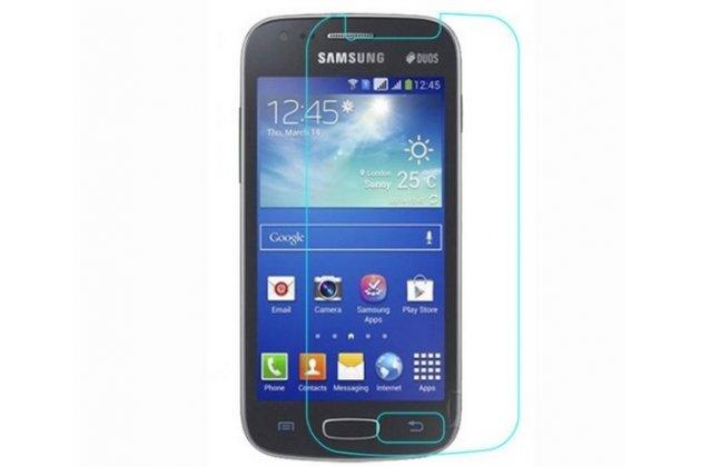 Фирменная оригинальная защитная пленка для телефона Samsung Galaxy Ace 3 S7270/S7272/S7275 глянцевая