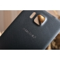 Фирменная задняя оригинальная , которая шла в комплекте для Samsung Galaxy Alpha SM-G850F черная..