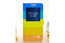 """Фирменный чехол-книжка с безумно красивым рисунком на Samsung Galaxy Alpha SM-G850F с окошком для звонков """"тематика все цвета радуги"""""""