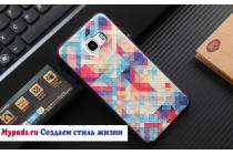 """Фирменная роскошная задняя панель-чехол-накладка из мягкого силикона с объемным  3D изображением на Samsung Galaxy C5 (C5000) 5.2"""" с безумно красивым рисунком  """"Тематика Яркая Мозайка"""""""