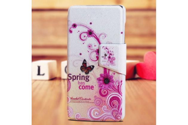 "Фирменный необычный чехол для Samsung Galaxy C5 (C5000) 5.2 ""тематика Бабочка"""