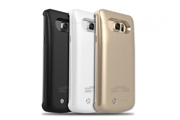 """Чехол-бампер со встроенной усиленной мощной батарей-аккумулятором большой повышенной расширенной ёмкости 4200mAh для Samsung Galaxy C7(C7000) 5.7"""" + гарантия"""