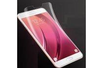 """Фирменная оригинальная 3D защитная пленка с закругленными краями которое полностью закрывает экран для телефона Samsung Galaxy C7(C7000) 5.7"""" глянцевая"""