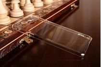 """Фирменная задняя панель-крышка-накладка из тончайшего и прочного пластика для Samsung Galaxy C7(C7000) 5.7""""  прозрачная"""