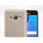 Фирменная задняя панель-крышка-накладка из тончайшего и прочного пластика для Samsung Galaxy J1 2016 SM-J120F/..