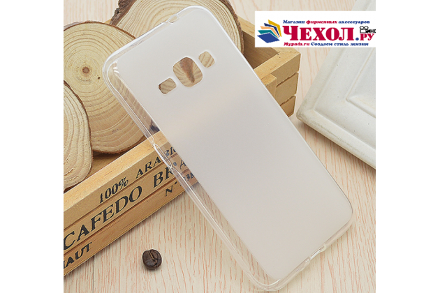 Фирменная ультра-тонкая силиконовая задняя панель-чехол-накладка для Samsung Galaxy J1 mini SM-J105F/H / J1 Mini 2016 4.0 белая