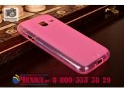 Фирменная ультра-тонкая силиконовая задняя панель-чехол-накладка для Samsung Galaxy J1 mini SM-J105F/H / J1 Mi..