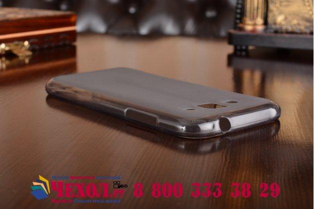 """Фирменная ультра-тонкая полимерная из мягкого качественного силикона задняя панель-чехол-накладка для Samsung Galaxy J2 SM-J200H/DS /J200F/ J200G 4.7"""" черная"""