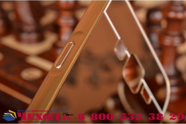 """Фирменная металлическая задняя панель-крышка-накладка из тончайшего облегченного авиационного алюминия для Samsung Galaxy J2 SM-J200H/DS /J200F/ J200G 4.7"""" золотая"""