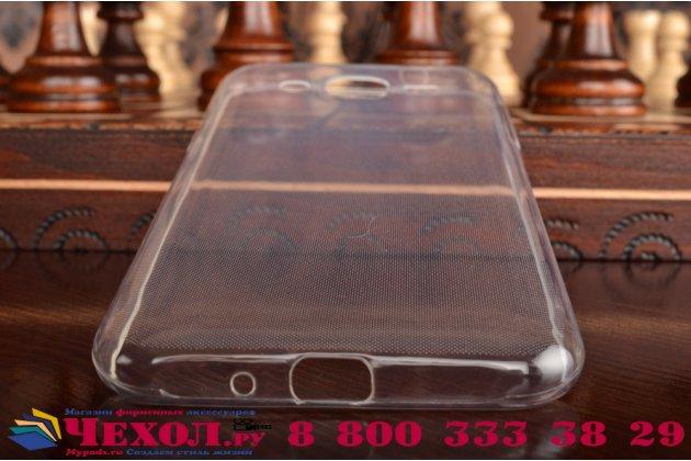 """Фирменная ультра-тонкая полимерная из мягкого качественного силикона задняя панель-чехол-накладка для Samsung Galaxy J2 SM-J200H/DS /J200F/ J200G 4.7"""" белая"""