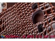 Фирменный чехол-книжка с подставкой для Samsung Galaxy J2 SM-J200H/DS /J200F/ J200G 4.7 лаковая кожа крокодила..
