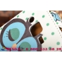 """Фирменный вертикальный откидной чехол-флип для Samsung Galaxy J2 SM-J200H/DS /J200F/ J200G 4.7""""  """"тематика Сова"""""""