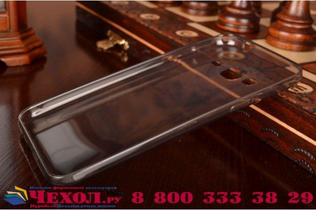 """Фирменная ультра-тонкая полимерная из мягкого качественного силикона задняя панель-чехол-накладка для  Samsung Galaxy J3 J300/ J3109 (5.0"""") черная"""