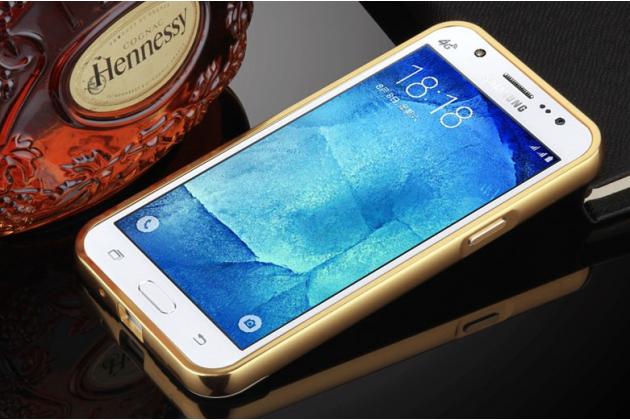 """Фирменная металлическая задняя панель-крышка-накладка из тончайшего облегченного авиационного алюминия для Samsung Galaxy J3 (2016) SM-J320F/DS/J320H/DS 5.0"""" золотая"""