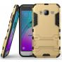 Противоударный усиленный ударопрочный фирменный чехол-бампер-пенал для Samsung Galaxy J3 (2016) SM-J320F/DS/J3..