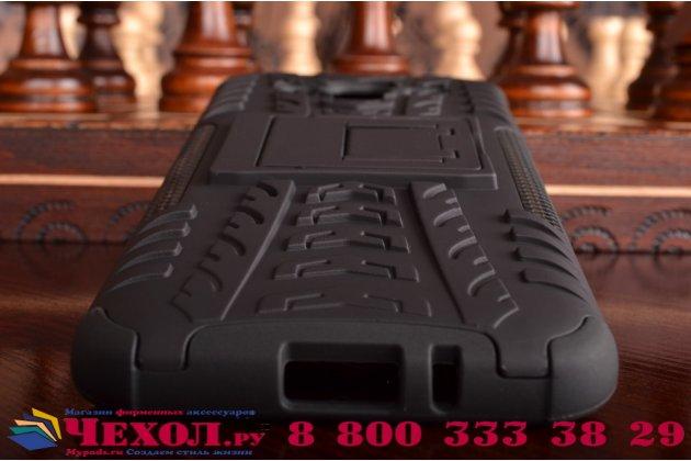 """Противоударный усиленный ударопрочный фирменный чехол-бампер-пенал для Samsung Galaxy J3 J300/ J3109 (5.0"""") черный"""
